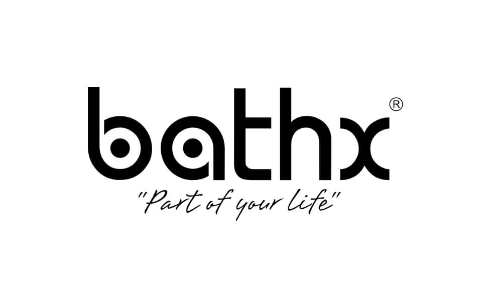 BathX Bathware High quality wide logo