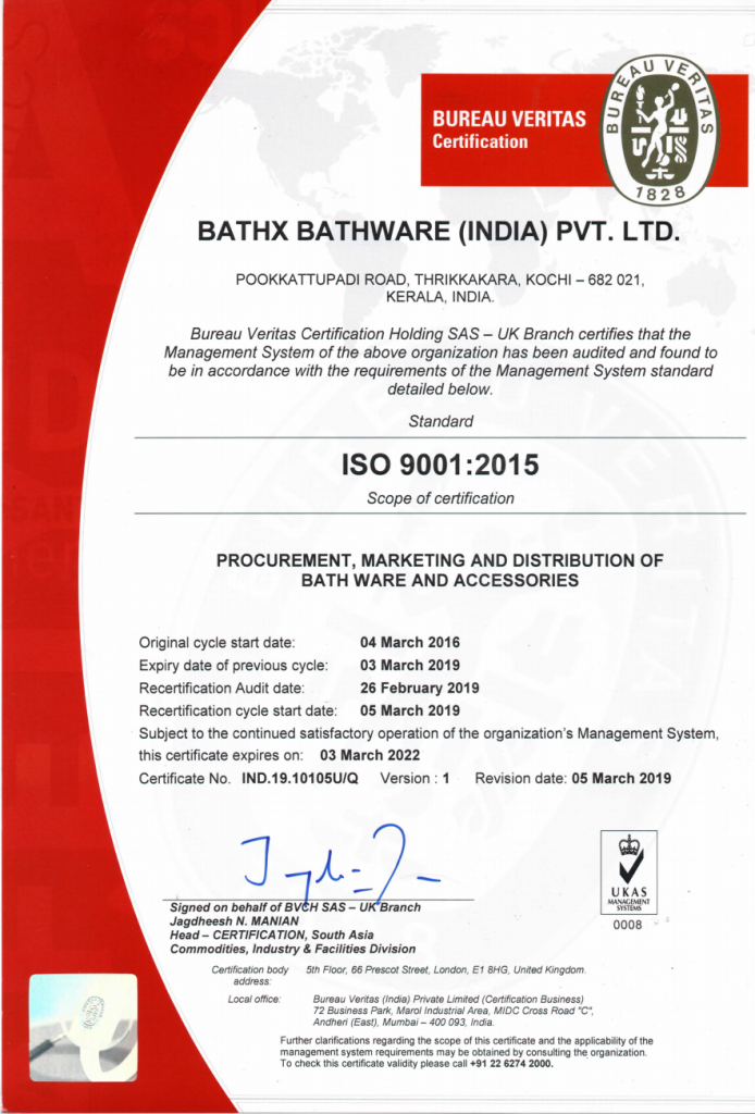 Bureau Veritas Certification 1